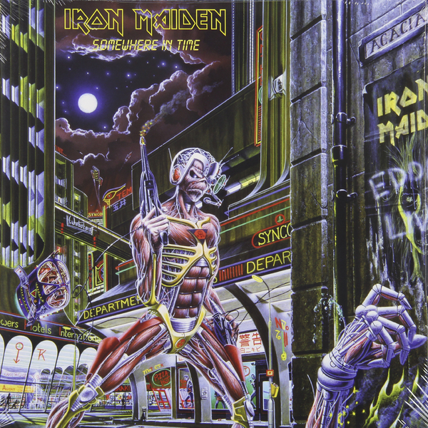 Iron Maiden Iron Maiden - Somewhere In Time iron maiden iron maiden live after death 2 lp