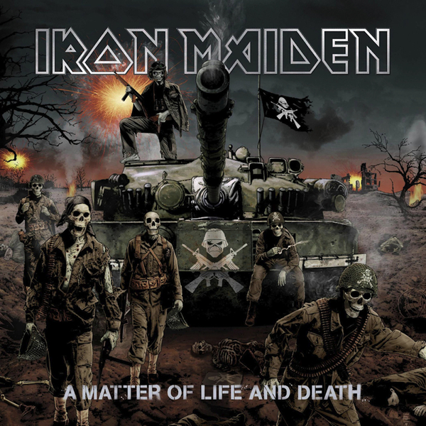 Iron Maiden Iron Maiden - A Matter Of Life And Death (2 Lp, 180 Gr) виниловая пластинка iron maiden dance of death