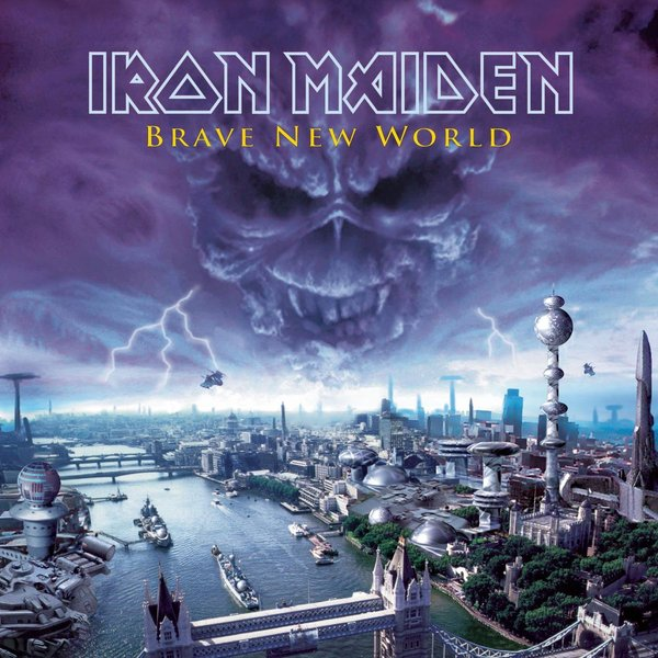 Iron Maiden Iron Maiden - Brave New World (2 Lp, 180 Gr) iron maiden iron maiden rock in rio 3 lp 180 gr
