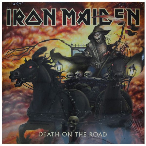 Iron Maiden Iron Maiden - Death On The Road (2 LP) виниловая пластинка iron maiden death on the road