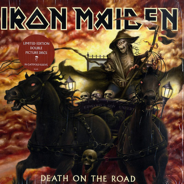 Картинка для Iron Maiden Iron Maiden - Death On The Road (picture Disc)