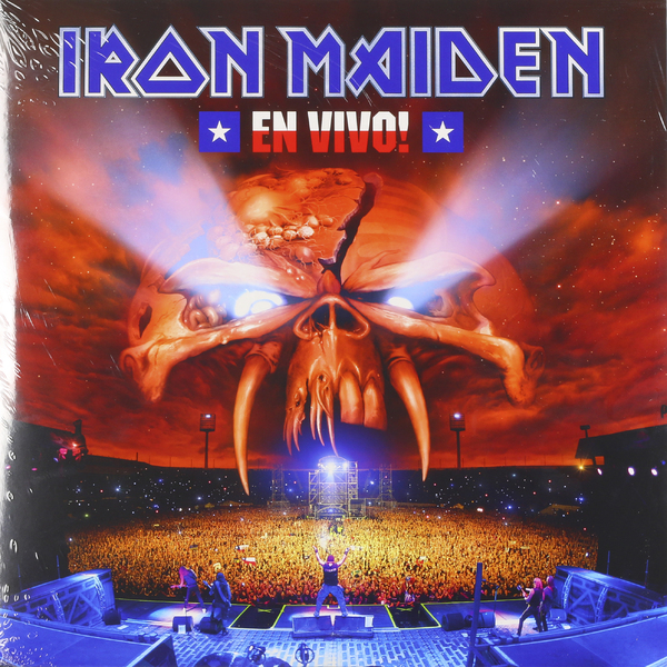 Iron Maiden Iron Maiden - En Vivo (3 LP) iron maiden iron maiden en vivo 2 lp