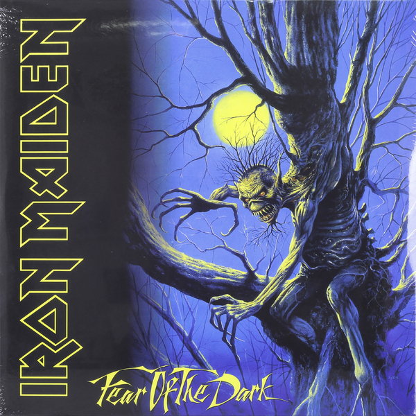Iron Maiden Iron Maiden - Fear Of The Dark (2 Lp, 180 Gr) cd iron maiden fear of the dark remastered