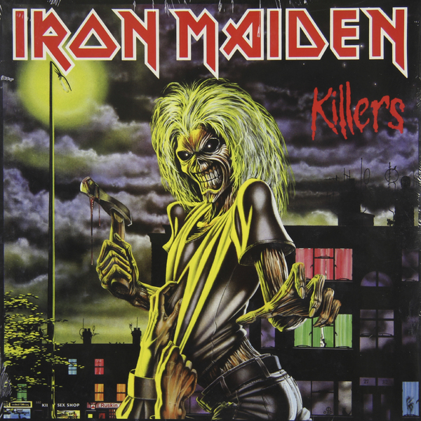 Iron Maiden Iron Maiden - Killers iron maiden iron maiden somewhere in time