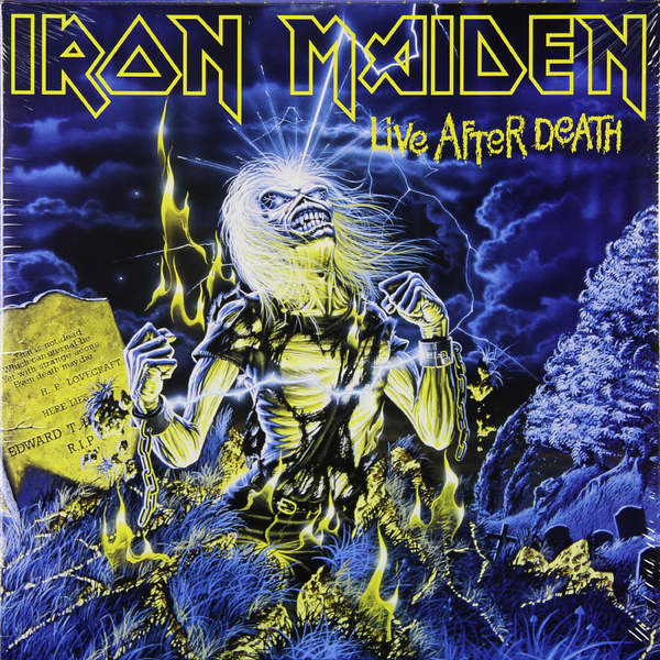 Iron Maiden Iron Maiden - Live After Death (2 LP) виниловая пластинка iron maiden dance of death