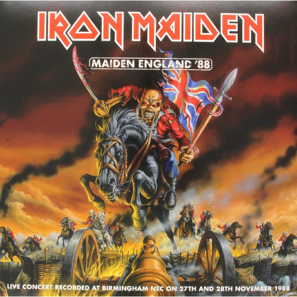 Iron Maiden Iron Maiden - Maiden England '88 (picture Disc, 2 LP) iron maiden iron maiden somewhere in time
