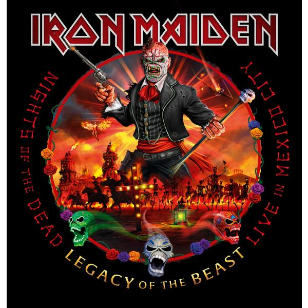 Iron Maiden - Nights Of The Dead Legacy Beast, Live In Mexico City (limited, 180 Gr, 3 LP)