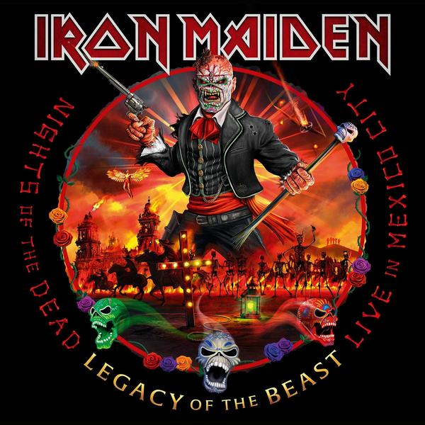 Iron Maiden - Nights Of The Dead Legacy Beast, Live In Mexico City (limited, Colour, 180 Gr, 3 LP)