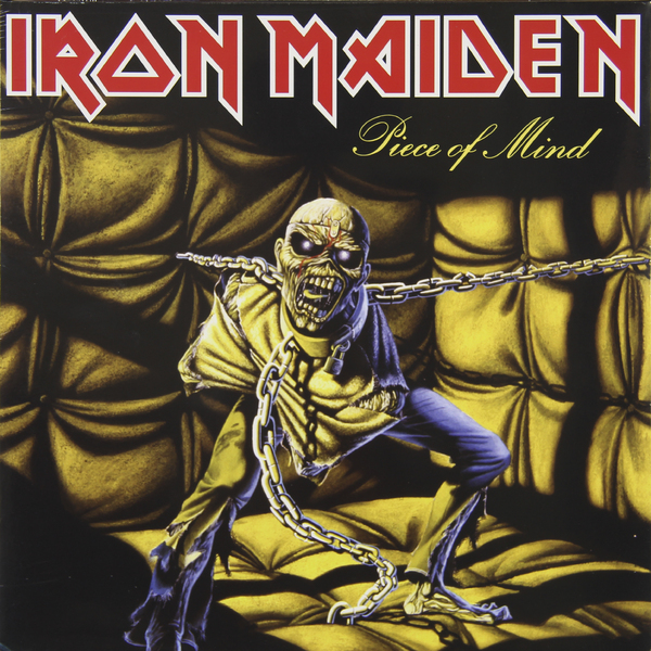 Iron Maiden Iron Maiden - Piece Of Mind original meanwell nes 200 24 ac to dc single output 200w 8 8a 24v mean well power supply nes 200