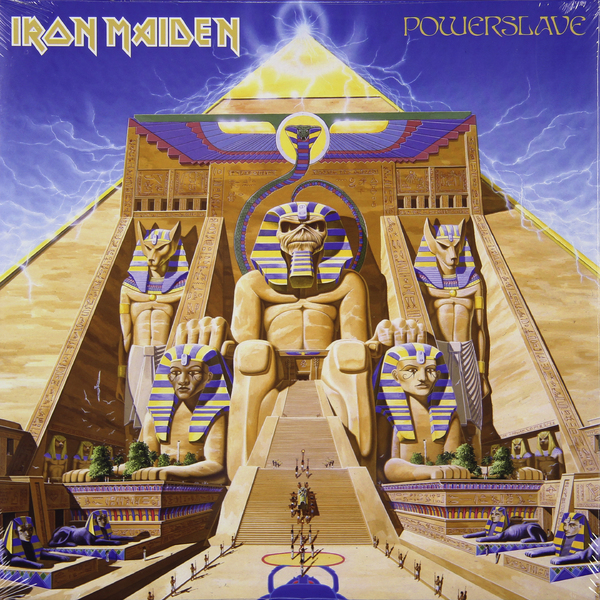 Iron Maiden Iron Maiden - Powerslave iron maiden iron maiden somewhere in time