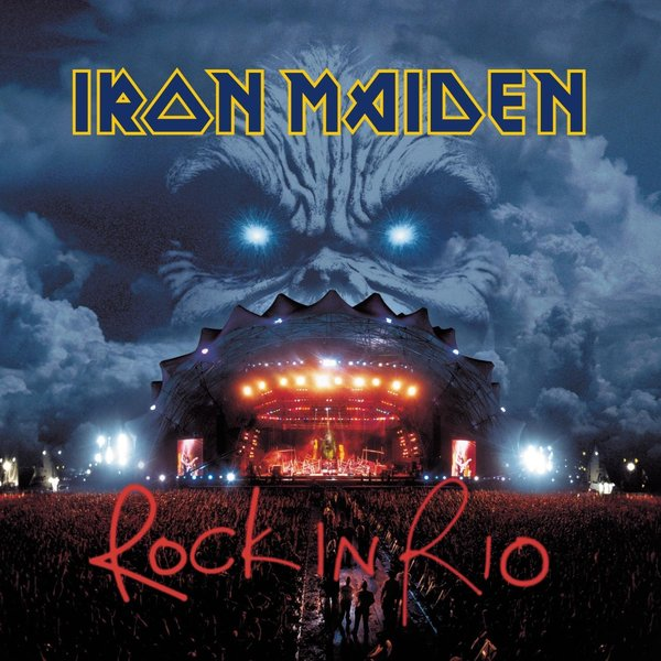 Iron Maiden Iron Maiden - Rock In Rio (3 Lp, 180 Gr) guano apes guano apes proud like a god 180 gr colour