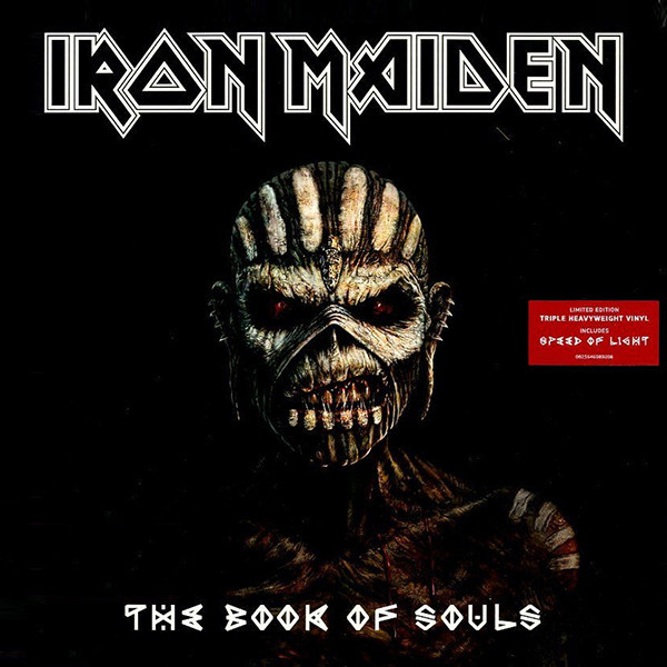 цена Iron Maiden Iron Maiden - The Book Of Souls (3 LP) онлайн в 2017 году