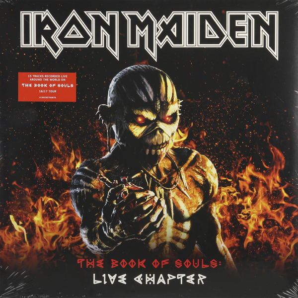 Iron Maiden Iron Maiden - The Book Of Souls Live (3 Lp, 180 Gr) iron maiden iron maiden live after death 2 lp