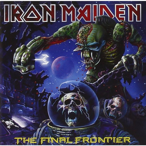Iron Maiden Iron Maiden - The Final Frontier (2 LP) футболка print bar flower birds
