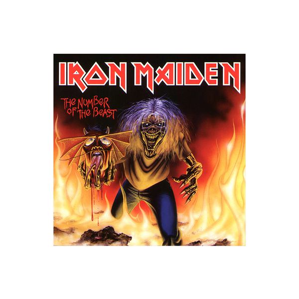 Iron Maiden Iron Maiden - The Number Of The Beast (7 ) цена