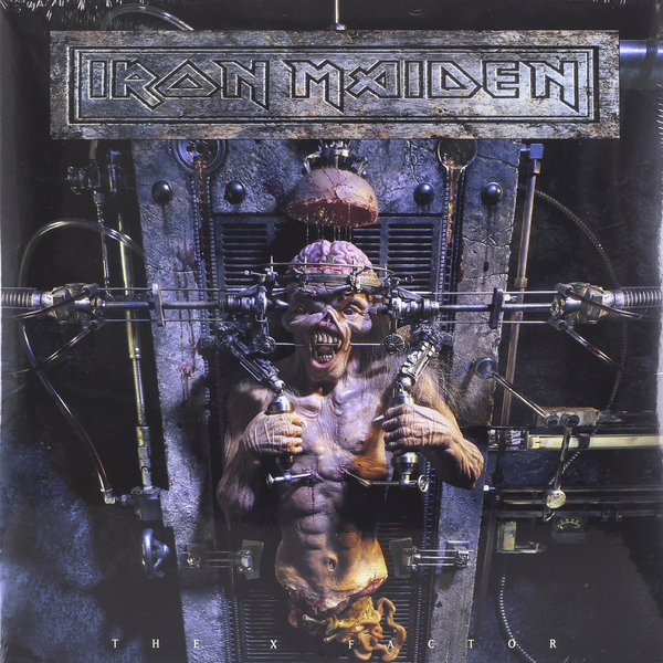 Iron Maiden Iron Maiden - The X Factor (2 Lp, 180 Gr) iron maiden iron maiden flight 666 the film 2 lp
