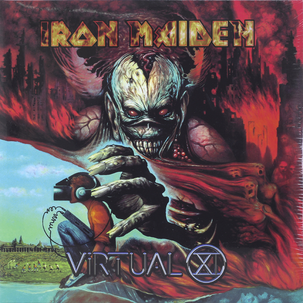 Iron Maiden Iron Maiden - Virtual Xi (2 Lp, 180 Gr) iron maiden iron maiden a matter of life and death 2 lp 180 gr