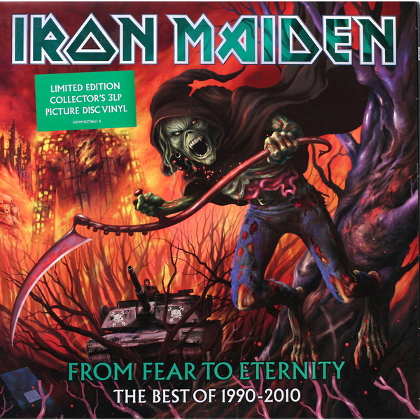Iron Maiden Iron Maiden - From Fear To Eternity: The Best Of 1990-2010 (3 LP) cd iron maiden fear of the dark remastered
