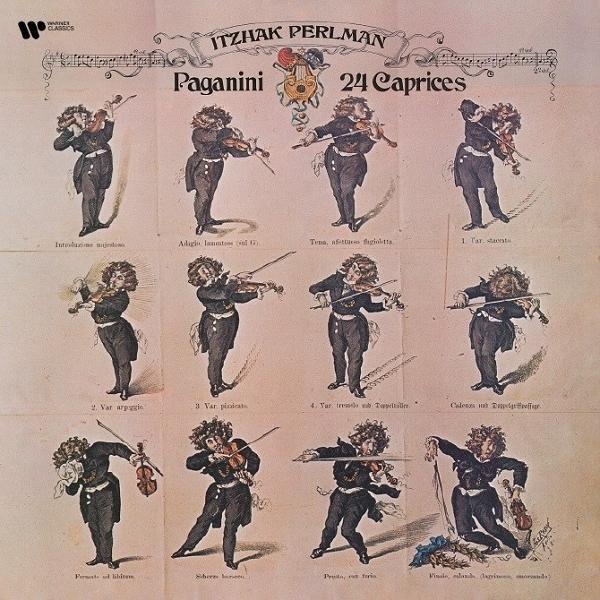 Itzhak Perlman Itzhak Perlman - Paganini: 24 Caprices (180 Gr, 2 LP) виниловая пластинка itzhak perlman brahms violin concerto 0190295801700