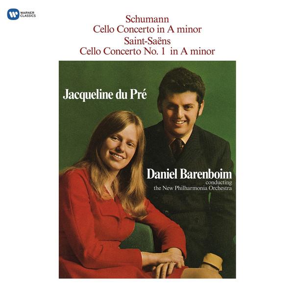 Schumann SchumannJacqueline Du Pre - : Cello Concerto / Saint-saens: Cello Concerto No. 1 (180 Gr) haydn haydnjacqueline du pre cello concerto in c boccherini cello concerto