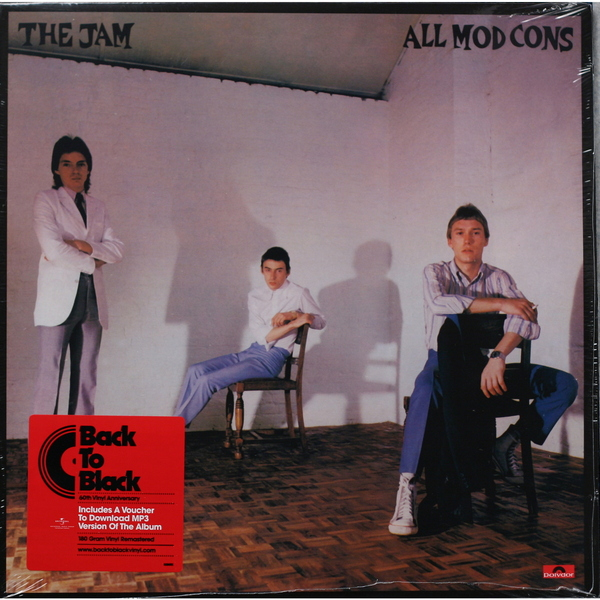 JAM JAM - All Mod Cons the jam the jam all mod cons lp
