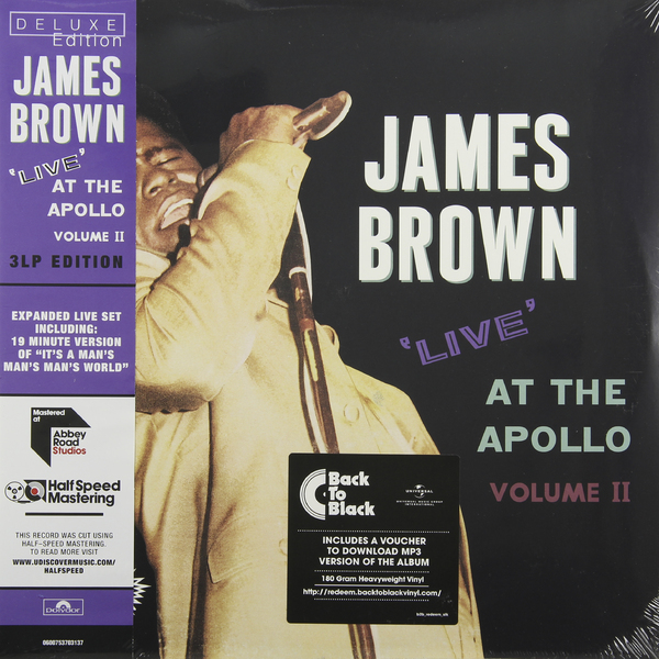 James Brown James Brown - Live At The Apollo (3 Lp, 180 Gr) rihanna loud tour live at the o2