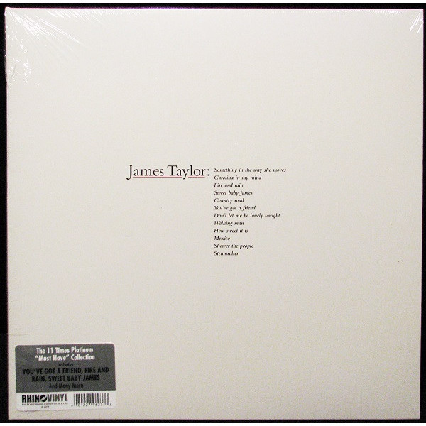 James Taylor James Taylor - Greatest Hits джеймс ласт james last 80 greatest hits 3 cd