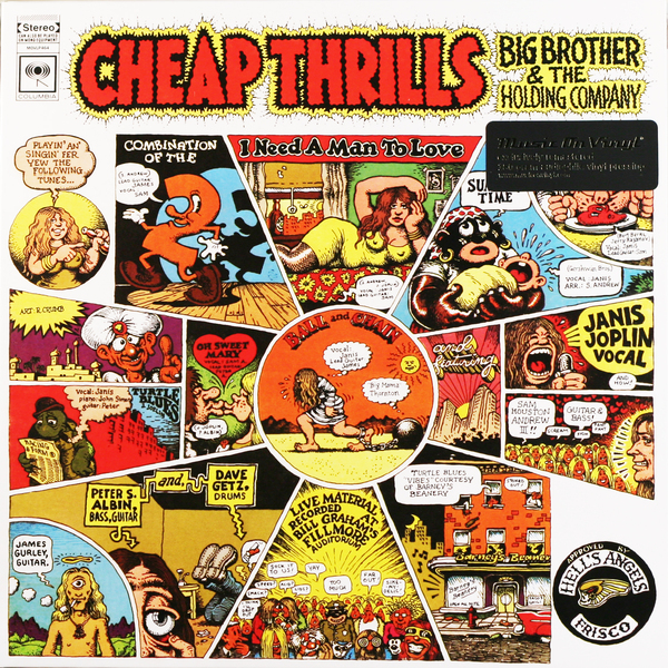 Janis Joplin Janis Joplin - Cheap Thrills (180 Gr) janis joplin janis joplin big brother the holding comp