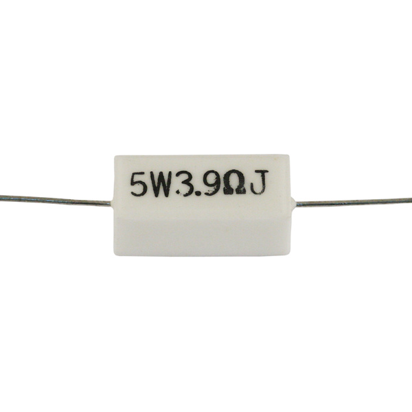 Резистор Jantzen 5W 3.90 Ohm ceramic 10pcs 5 watt 2r ceramic cement power resistors 5w 2 ohm 5