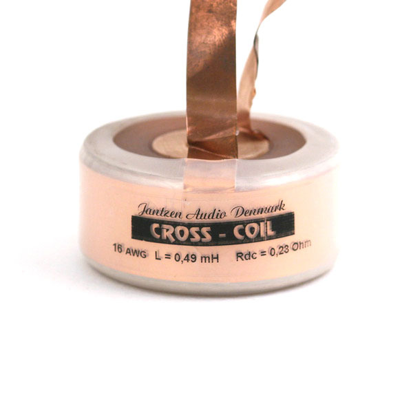 Катушка индуктивности Jantzen Cross Coil 16 AWG / 1.3 mm 0.49 mH 0.24 Ohm катушка индуктивности jantzen cross coil 16 awg 1 3 mm 0 23 mh 0 15 ohm