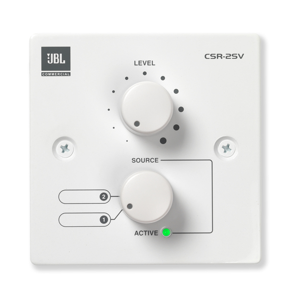 Панель управления JBL CSR-2SV-WHT jbl csr 2sv wht