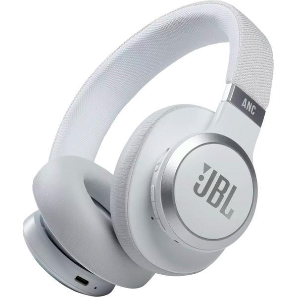 Фото - Беспроводные наушники JBL Live 660NC White беспроводные наушники jbl t750btnc cor