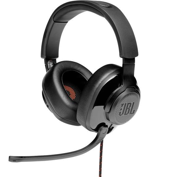 Охватывающие наушники JBL Игровые с микрофоном Quantum 200 Black
