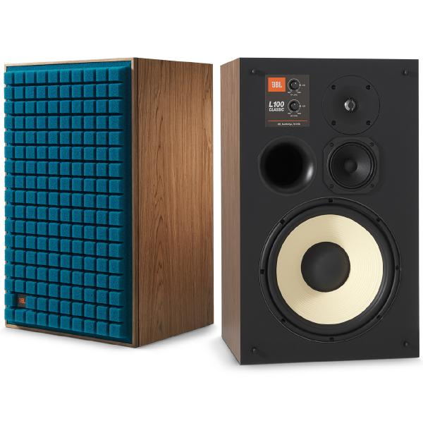 Полочная акустика JBL Studio Monitor L100 Classic Walnut/Blue