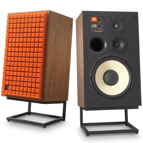 Полочная акустика JBL Studio Monitor L100 Classic Walnut/Orange