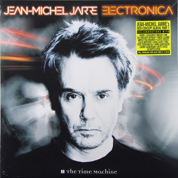 Картинка для Jean Michel Jarre Jean Michel Jarre - Electronica 1: The Time Machine (2 LP)