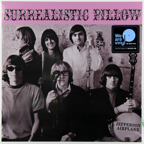 Jefferson Airplane Jefferson Airplane - Surrealistic Pillow (180 Gr) jefferson airplane jefferson airplane original album classics 3 cd