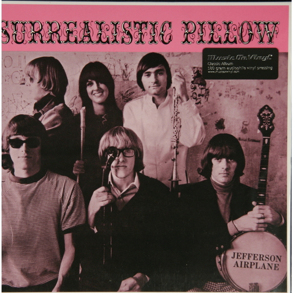 Jefferson Airplane Jefferson Airplane - Surrealistic Pillow (180 Gr) guano apes guano apes proud like a god 180 gr colour