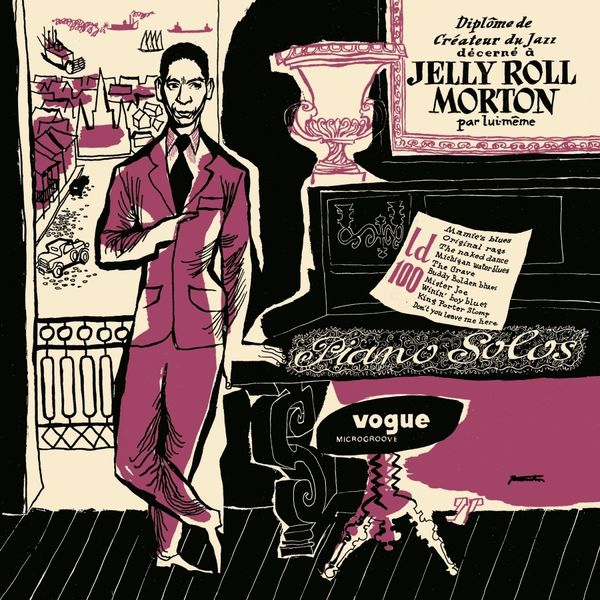 Jelly Morton - Pianos Solos (colour)