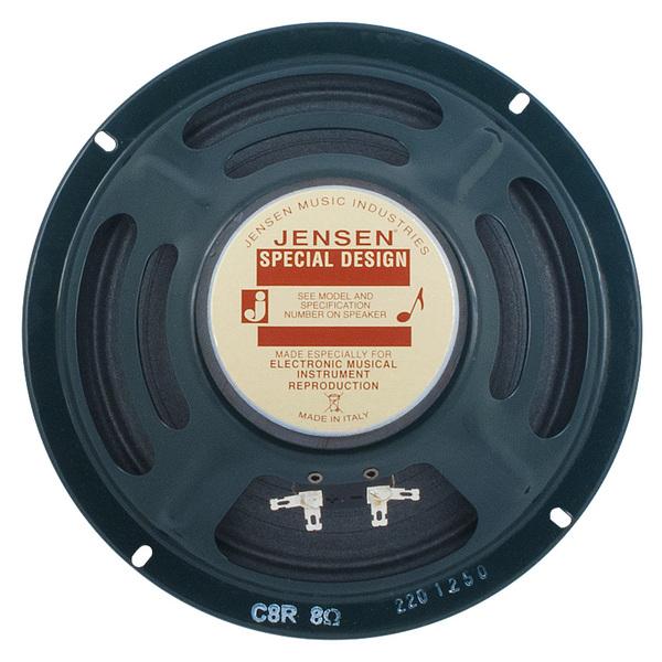 Гитарный динамик Jensen Loudspeakers C8R 4 Ohm гитарный динамик jensen loudspeakers ch8 35 8 ohm