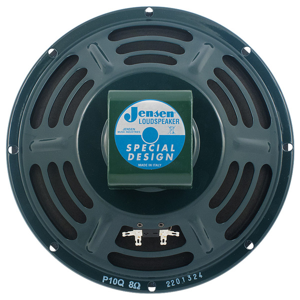 Гитарный динамик Jensen Loudspeakers P10Q 8 Ohm гитарный динамик jensen loudspeakers ch8 35 8 ohm
