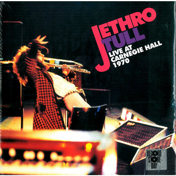 Jethro Tull Jethro Tull - Live At Carnegie Hall 1970 (2 LP) jethro tull s ian anderson thick as a brick live in iceland blu ray