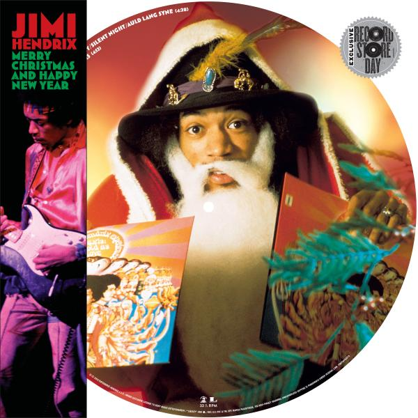 Jimi Hendrix - Merry Christmas And Happy New Year (limited, Picture Disk)