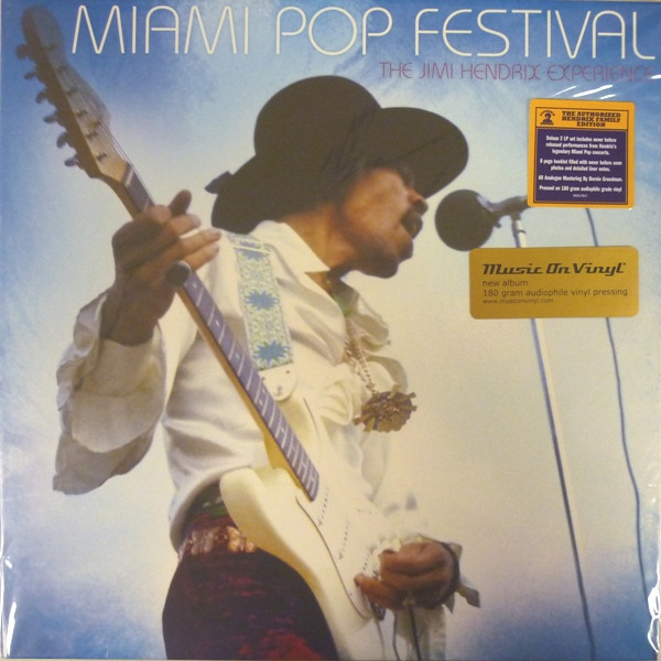Jimi Hendrix Jimi Hendrix - Miami Pop Festival (2 Lp, 180 Gr) jimi hendrix nylon guitar strap for electric bass guitar