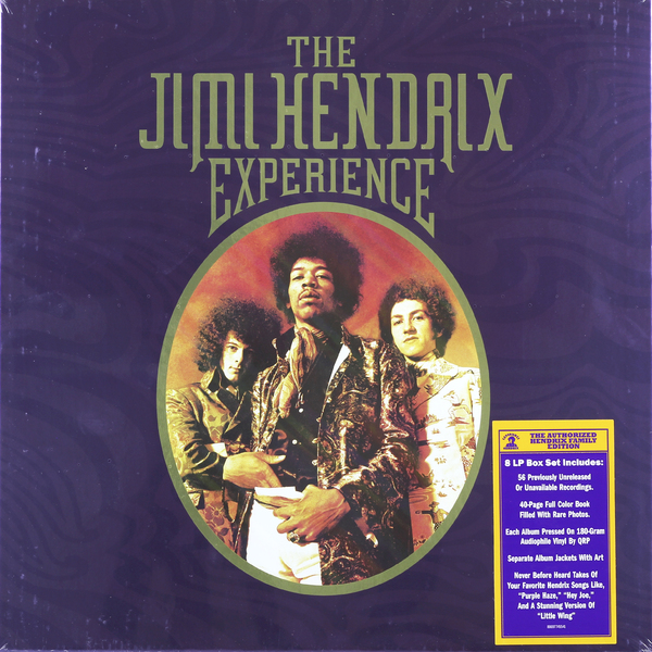 Jimi Hendrix Jimi Hendrix - The Jimi Hendrix Experience (8 Lp, 180 Gr) jimi hendrix nylon guitar strap for electric bass guitar