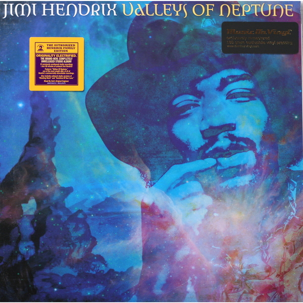 Jimi Hendrix Jimi Hendrix - Valleys Of Neptune (2 Lp, 180 Gr) guano apes guano apes proud like a god 180 gr colour
