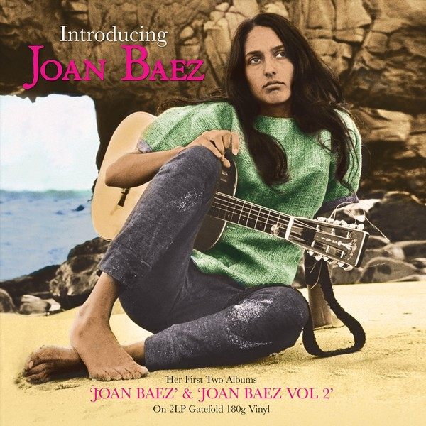 Joan Baez Joan Baez - Introducing (2 LP) robot unicorn sound control interactive unicorn electronic toys plush pet unicorn toy walk talk toys for children birthday gifts
