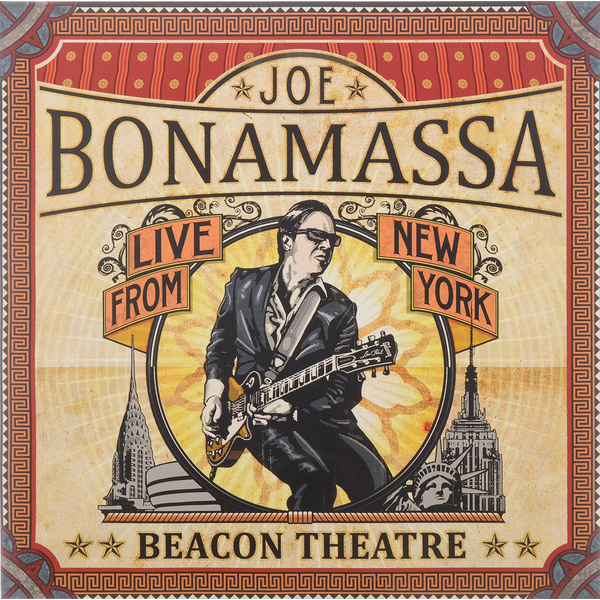 Joe Bonamassa Joe Bonamassa - Live At Beacon Theatre (2 LP) joe bonamassa joe bonamassa british blues explosion live 3 lp 180 gr