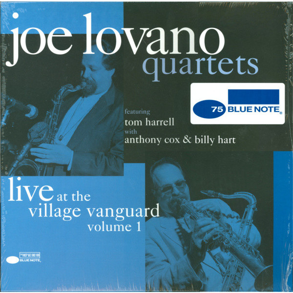 Joe Lovano Joe Lovano - Quartets: Live At The Village Vanguard (2 LP) сонни роллинз wilbur ware элвин джонс sonny rollins a night at the village vanguard lp