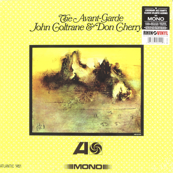 John Coltrane John Coltrane   Don Cherry - The Avant-garde (mono Remaster, 180 Gr) виниловая пластинка john coltrane the avant garde mono remaster
